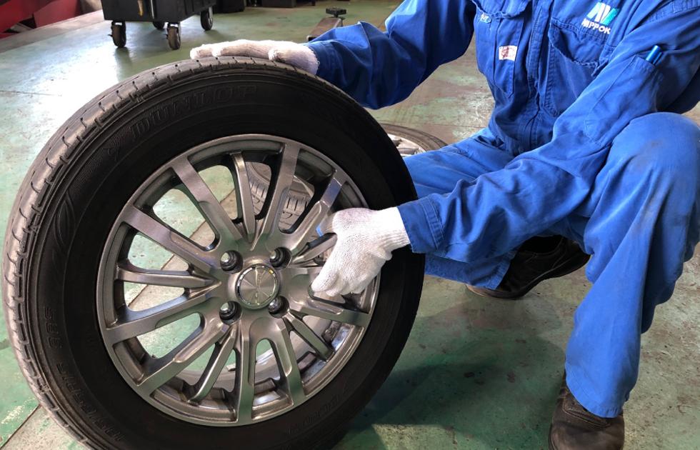 タイヤ交換・保管サービス・タイヤ販売